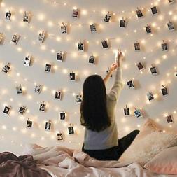 Led Photo Clip String Lights Indoor Seasonal Lighting Outdoo
