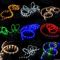 """LED Rope Lights 10' 25' 50' 100' 150'ft 2-Wire 3/8"""" Accent C"""