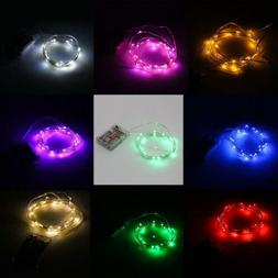 LED Starry Fairy String Lights 3M 10ft 30LEDs Battery Powere