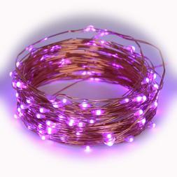 LED Starry String Lights USB Plug In 33Ft 100 Decorative For