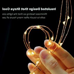 LED String Lights 33ft with 100 LEDs /Waterproof Outdoor & I