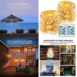 LED String Lights 66Ft 200 Leds Dimmable Festival Decorative