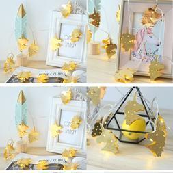 Led String Lights Warm WHITE Iron Style Fairy Light Ba Unico