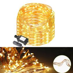 LED String Starry Light Copper Wire Fairy Lights Warm White