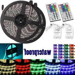 Led Strip Lighting 2*5M 32.8 Ft 5050 RGB 300 LEDs Flexible C