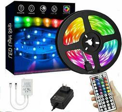 Led Strip Lights 16 ft RGB Led Room Lights 5050 Led Tape Lig