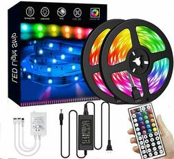 Led Strip Lights 33 ft RGB Led Room Lights 5050 Led Tape Lig