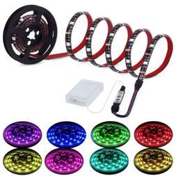Led Strip Lights Battery Powered, RGB LED Rgb