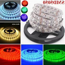 LED Strip Lights Waterproof 5050 5M Car 12V/Home Wedding Dé