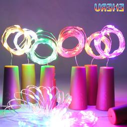 LED Wine Bottle <font><b>Lights</b></font> 2M 20LEDs Cork Sh