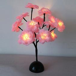 LEDs Table Lamp Night Lights Desk Flower Tree Night Light Be