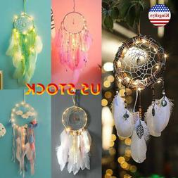 Light Up Dream Catcher Led String Lights Hanging Fashion Hom