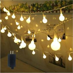 Light Waterproof Lights String Outdoor Decor Party Garden Wa
