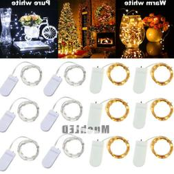 Lot 20/30 LEDs Waterproof LED MICRO Silver Copper Wire Strin