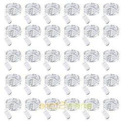 lot 30 leds waterproof led micro silver