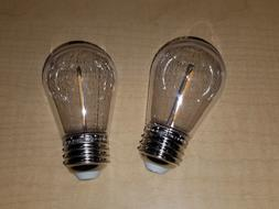 Lot of 2 - Feit String Light GENUINE Replacement S14 Bulbs I