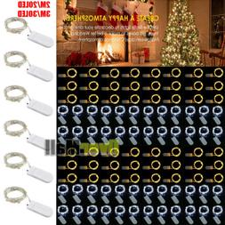Lots 30LED Waterproof LED MICRO Silver Copper Wire String Fa