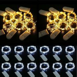 Lots 30LED Wine Bottle Lights String Lights Bottle Stopper L