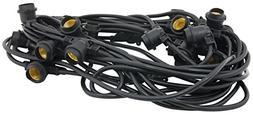 American Lighting LS2-M-24-48-BK Commercial Grade Light Stri