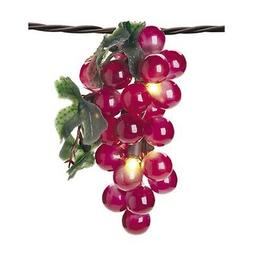 Darice LT80-1 35 Lights with 1/2-Inch Grape Cluster Light Se