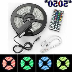 Luces US Stock 5M 5050 LED Strip Light RGB SMD Tape Ribbon L