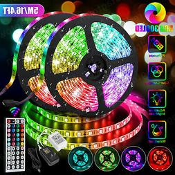 5M 16.4ft RGB Waterproof 300 LED 3528 SMD Flexible Strip Lig