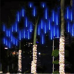 20/30cm/50cm LED Lights Meteor Shower Rain 8Tube Xmas Tree O