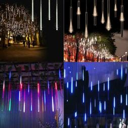 Meteor shower snow LED lights 50 cm 8 tube romantic lighting