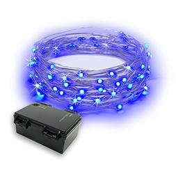 RTGS 60 LEDs String Lights Battery Operated on 20 Feet Long