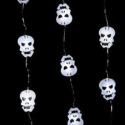 Micro LED Skull String Lights  by Gerson 2281320