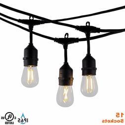 Modvera Outdoor Sting Lights - Indoor Backyard Patio Lights