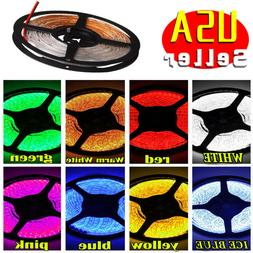 Multi Color 5M 16.4ft Waterproof 2835 SMD 300 LED Flexible L