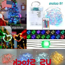 Multi-Color Changing Waterproof 5M 50LEDs 16 Colors String L