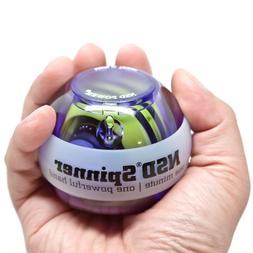 NSD Roll 'N Spin Rainbow Lit AutoStart Spinner Gyroscopic Wr