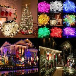 New 10M/20M 100/200 LED Fairy Christmas Xmas Tree String Lig