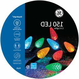 NEW - GE Energy Smart® 150 C5 LED Multi color Christmas Lig