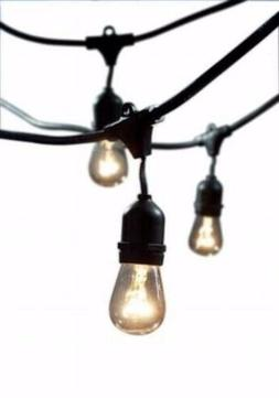 NEW French Cafe Patio Lights - Bulbrite Commercial Grade 48'