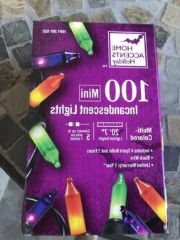 New Green Purple Orange Multicolor Mini String Lights Black