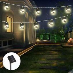 Novelty Solar Mason Jar String Light for Patio, Firefly Star