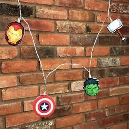Official Marvel Avengers Hulk Thor Iron Man 2D String Night