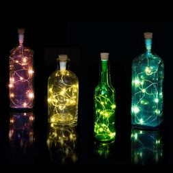 Suck UK Official Multicolour String Bottle Light | Rechargea
