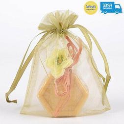 "Organza Drawstring Gift Bag 8 x 12 inches 8""x12"""