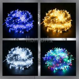 Outdoor Fairy Lights 100-200 LED Garden Patio Christmas Tree