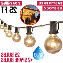 Outdoor Globe Patio String Lights Tools Home Improvement Sta