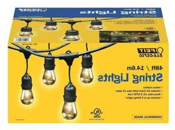 Feit Electric Outdoor Heavy Duty 48ft LED String Light