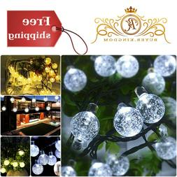 outdoor string lights battery operated with 8