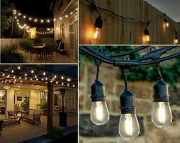 Outdoor String Lights - LED For Patio, Garden, Deck, Backyar
