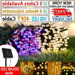 Outdoor String Lights Patio Party Yard Garden Wedding 100 LE