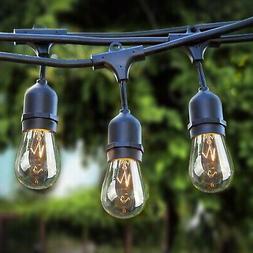 Sokani Patio Outdoor String Lights Weatherproof Commercial G
