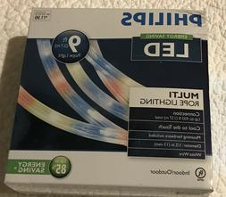 Philips LED Multi Colored Rope Lighting Multi Colored Clear